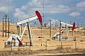 The Kern River oilfield in Oildale