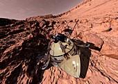 Mars 2 landing,1971,artwork