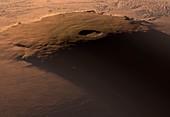Olympus Mons,Mars,artwork
