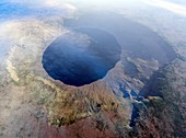 Ries crater,illustration