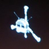 Philae lander module,Rosetta image