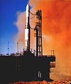 Europa rocket test launch