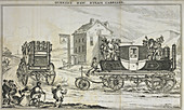 Gurney's steam carriage,illustration