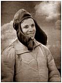 Yuri Gagagrin,first man in space