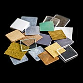 Squares of everyday materials
