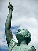 Pythagoras monument,Samos,Greece