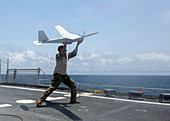 US military surveillance drone