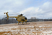 Military helicopter drone