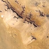 Roter Kamm crater,satellite image