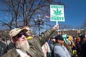 Legalisation of marijuana rally