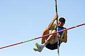 Senior athlete might not clear pole vault
