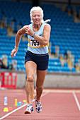 Masters Irish Athlete Dorothy McLennan