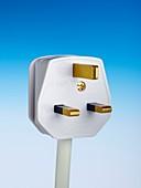 Three-pin electrical plug