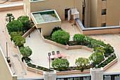 Rooftop garden,Monaco