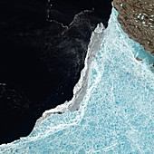 Amundsen Gulf sea ice coverage,June 2015