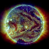 Solar filaments,SDO image