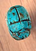Ancient scarab amulet