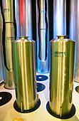 Flasks for radioactive waste