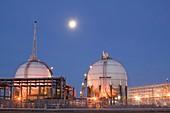 Petrochemical works on Teesside,UK