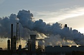 Emissions from the Corus steelworks,UK