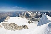 Mont Blanc Du Tacul above Chamonix