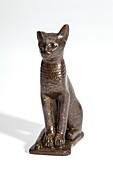 Ancient Egyptian cat figurine