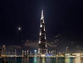 Burj Khalifa skyscraper,Dubai