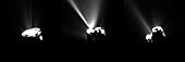 Comet Churyumov-Gerasimenko at perihelion