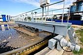 Sewerage treatment facility