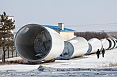 Chinese wind turbine factory