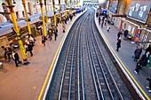 Farringdon station,London,UK