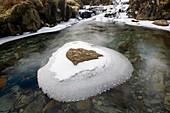 Ice on Greenburn Beck