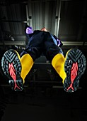 Industrial protective footwear