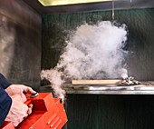 Extractor fan safety test