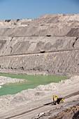 Beltana number 1 open cast coal mine