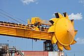 Coal moving machinery