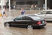 Flooding in Melbourne,Australia