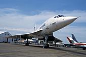 Concorde at an air show