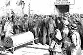 Cholera epidemic in Naples,Italy
