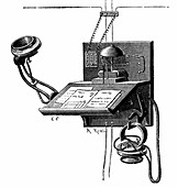 Early telephone apparatus