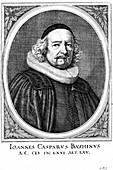 Jean Caspar Bauhin,Swiss physician