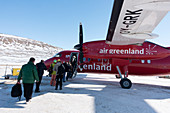 Air Greenland aeroplane