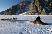 Walrus hunting,Greenland