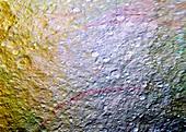 Saturn's moon Tethys,Cassini image