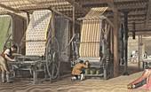 Calico printing machines