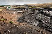 Open cast coal mine