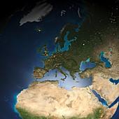 European population map