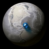 Global fresh water volume