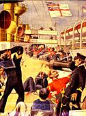 Explosion on HMS Royal Sovereign,1901