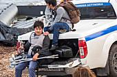 Syrian refugee,Greece